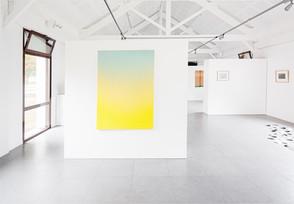 """Emmanuelle Leblanc, """"Diffuse jaune-céladon"""", 2018"""