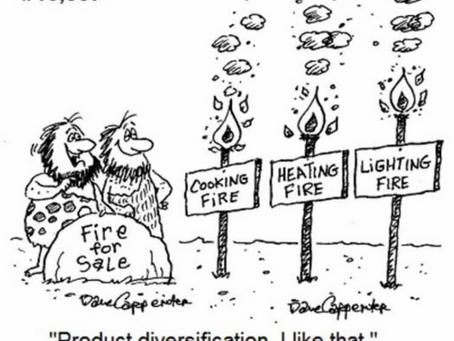 #Diversification : Comment faire d'une pierre deux coups (et du feu) ?
