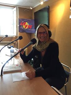 Catherine Oberle Fondatrice L'Académie au Féminin la radio
