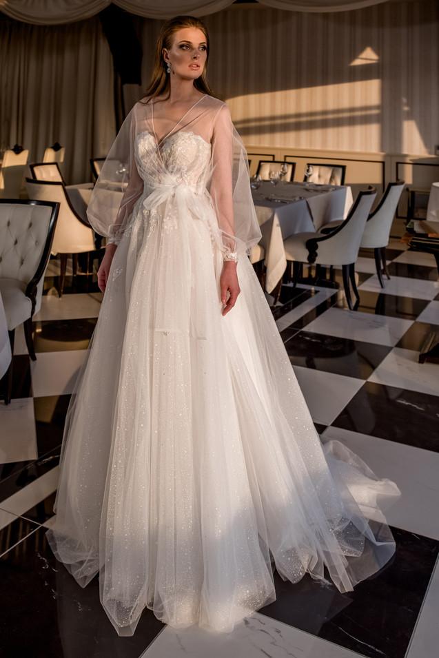 Prinzesssinen-Brautkleid