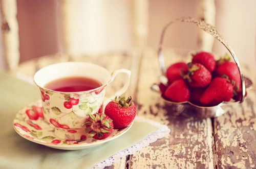 Strawberry tea - 20th, Capel y Groes