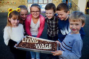 Minera School Pays the Living Wage