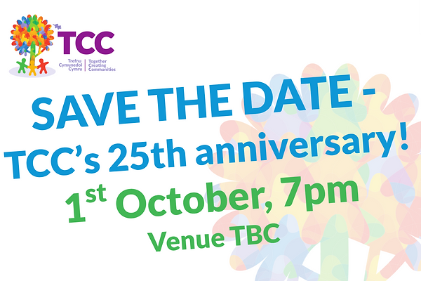 Save the Date 25th anniversary venue TBC