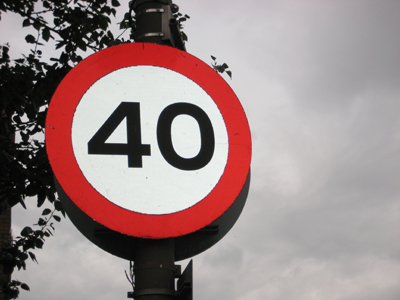 Holywell speed limit