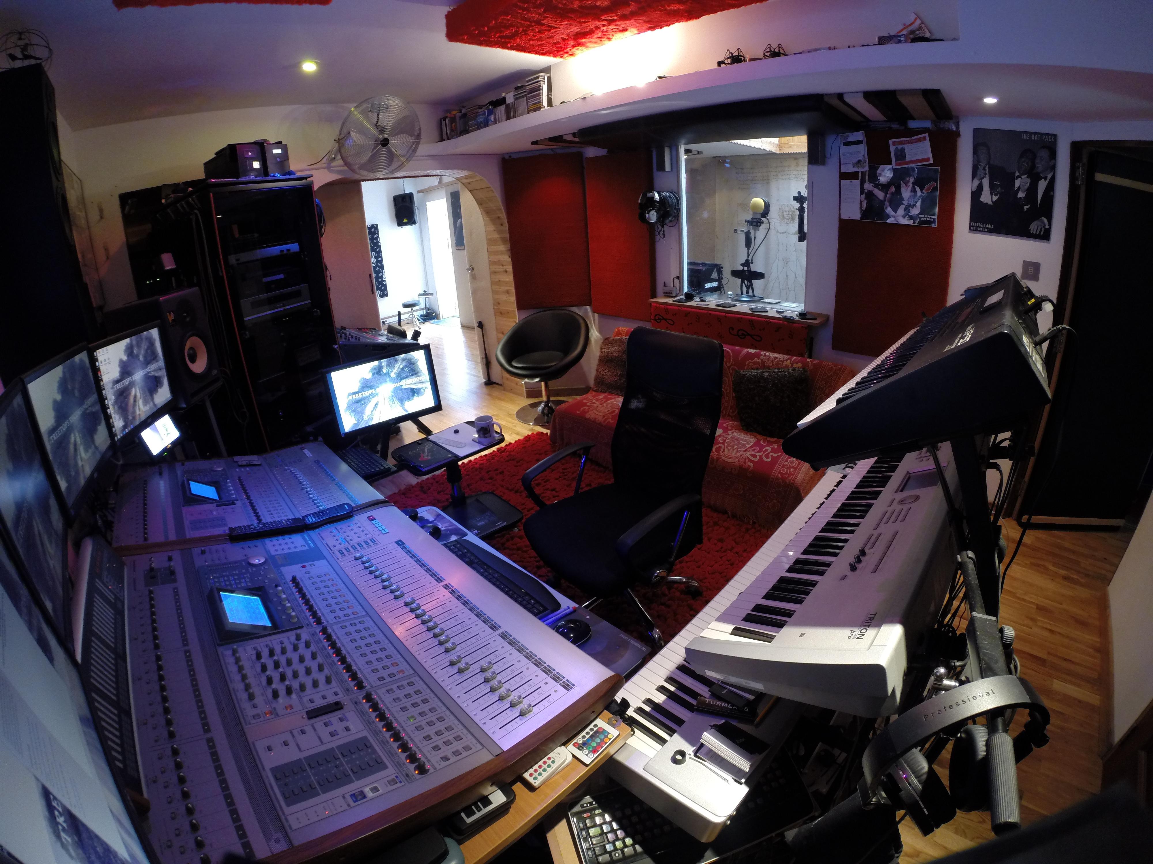 Engineer's lounge