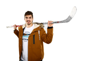 Kampaň pre OC Centro Nitra s hokejistom HC Nitra Karolom Korímom
