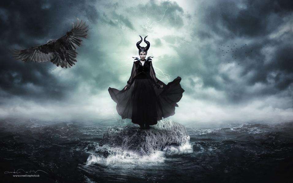 Maleficent by Micha.Ella Art