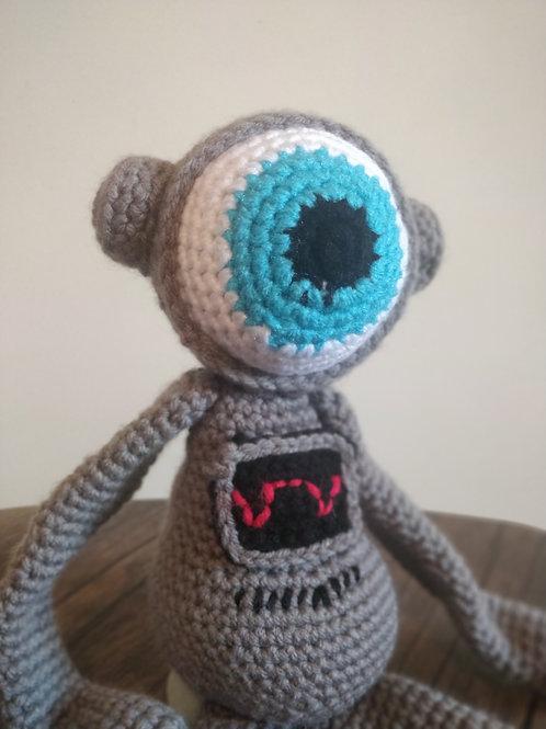Bleep Bloop Robot Flergle