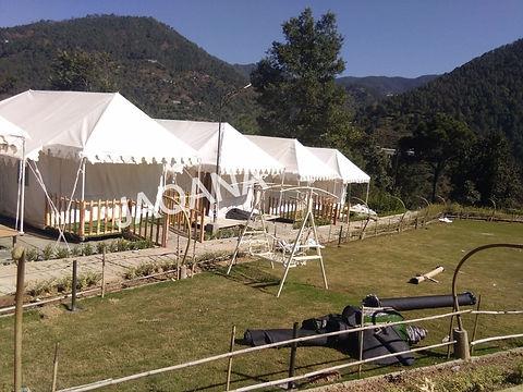 Swiss Cottage tent manufacturer in Delhi