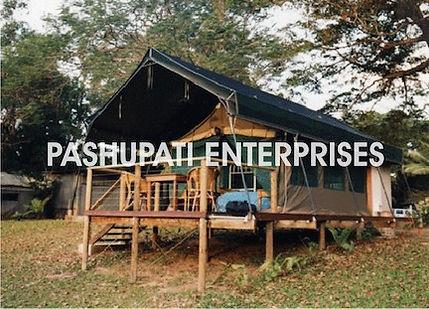 Jungle Safari tent on wooden Platform in Kerala Resort tent.jpg