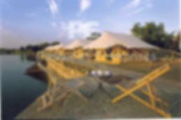 Economical Swiss Cottage tent used in Pushkar Fair for Camel Safari