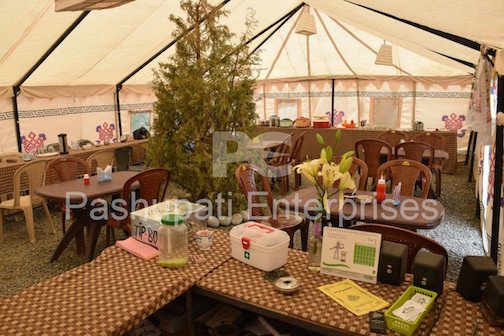 Dining tent Marquee tent