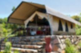 Jungle Safari tent in Karnataka Eco Lodge Camp
