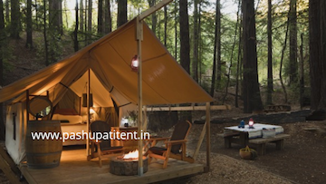 Vintage Camp tent