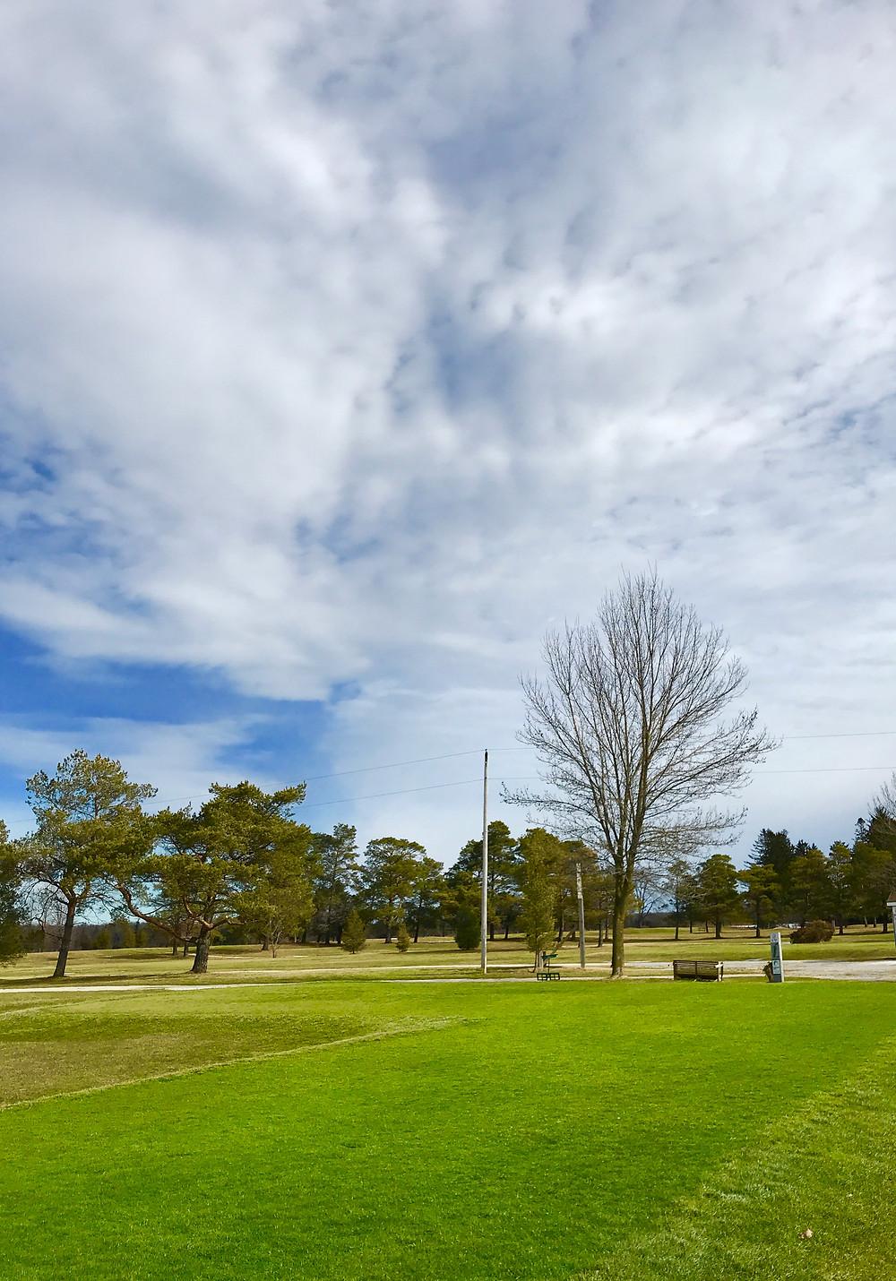 1st tee-box, sauble golf, saubel beach, on
