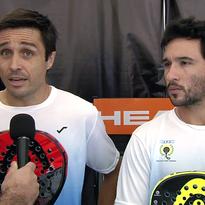 Fernando Belasteguín y Sanyo Gutiérrez