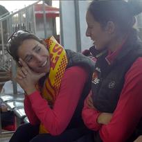 Lucía Sáinz y Gemma Triay