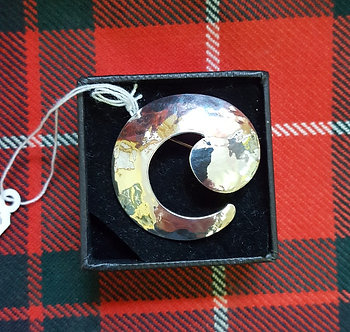Orkney Silver Brooch