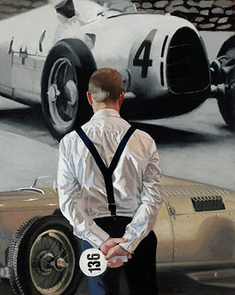 Auction Day (Framed)