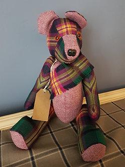 Handmade Tartan & Tweed Teddy