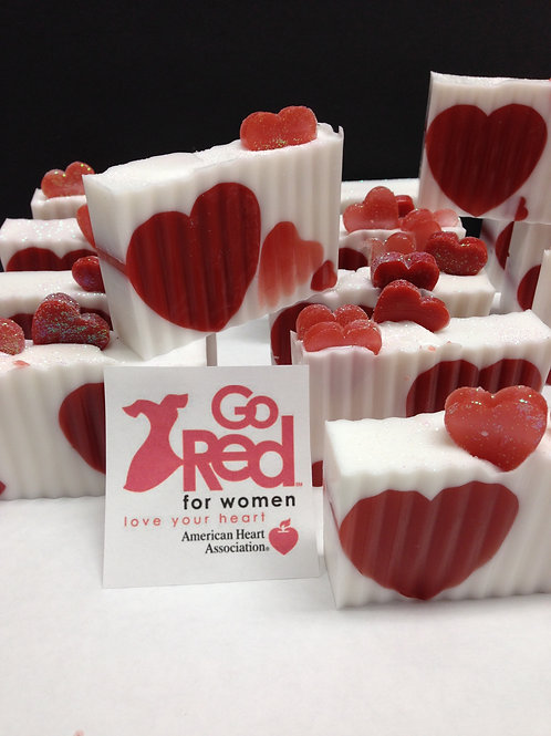Go Red Soap
