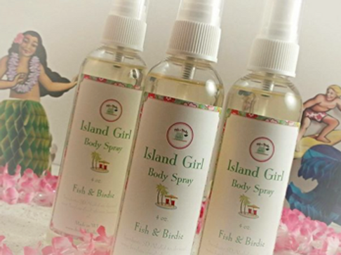 Island Girl Body Spray