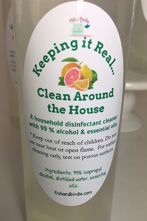 Keeping it Real...Clean Around the House