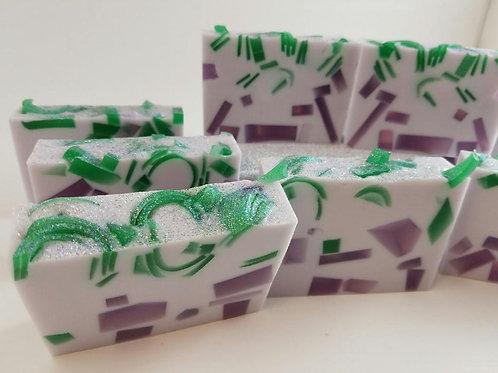 Purple Posies Soap
