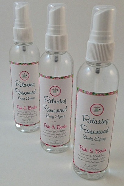 Relaxing Rosewood Body Spray