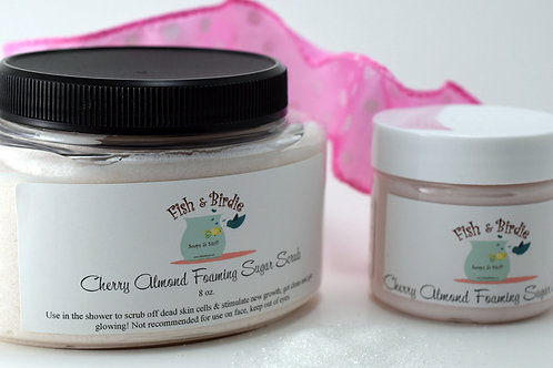 Cherry Almond Foaming Body Scrub