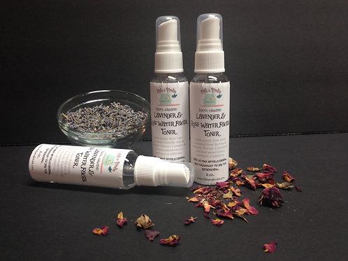 Lavender & Rose Water Hydrosol Face Toner