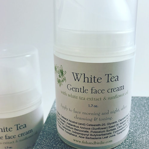 White Tea Gentle Face Cream