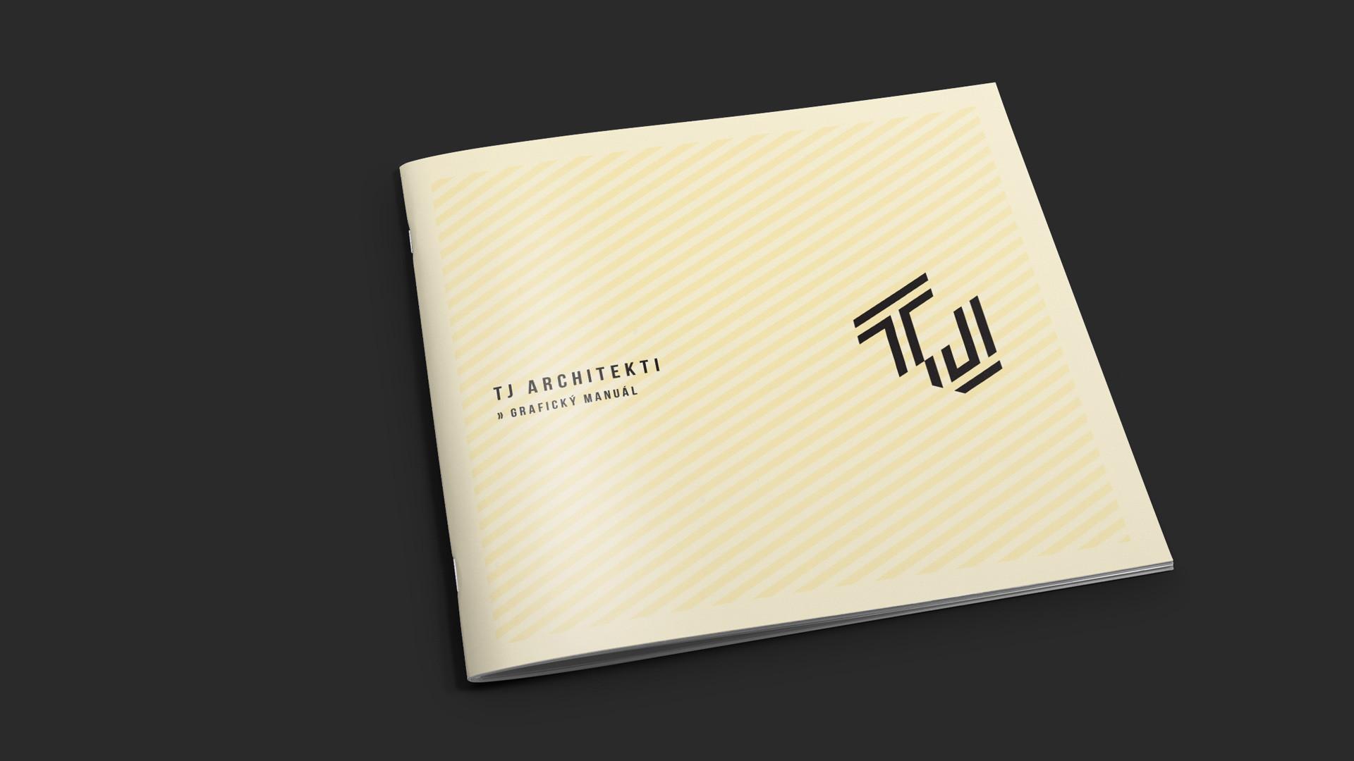 TJ architekti grafický manuál