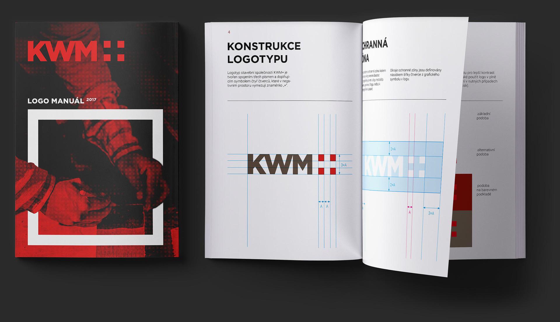KWM plus logo manuál