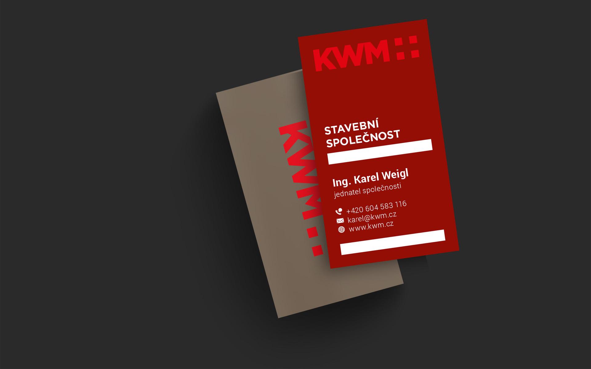KWM plus vizitky