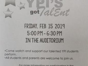 YPI's Got Talent!