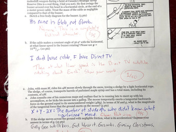HGM Teacher Test Thursday