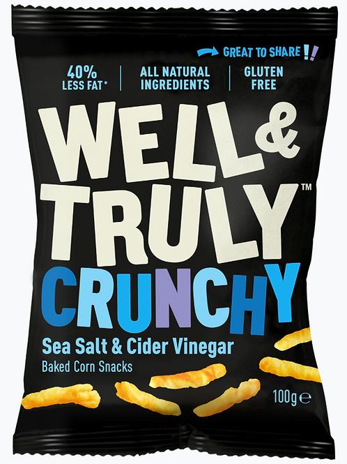 Box of Well&Truly Sea Salt & Cider Vinegar 100g