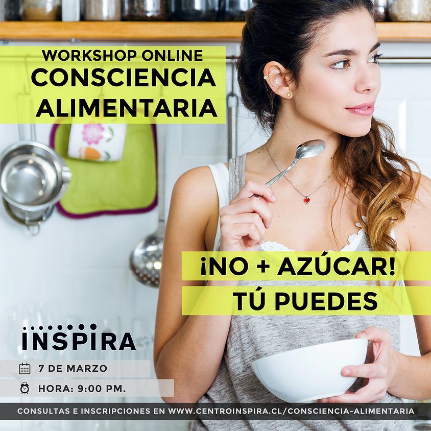 Workshop Gratuito ONLINE: Consciencia Alimentaria
