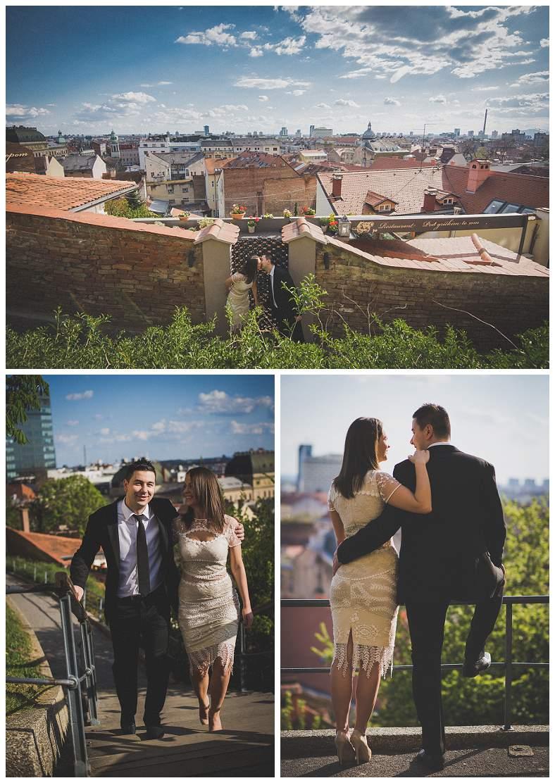 Snimanje vjenčanja u Zagrebu, foto session Gornji grad