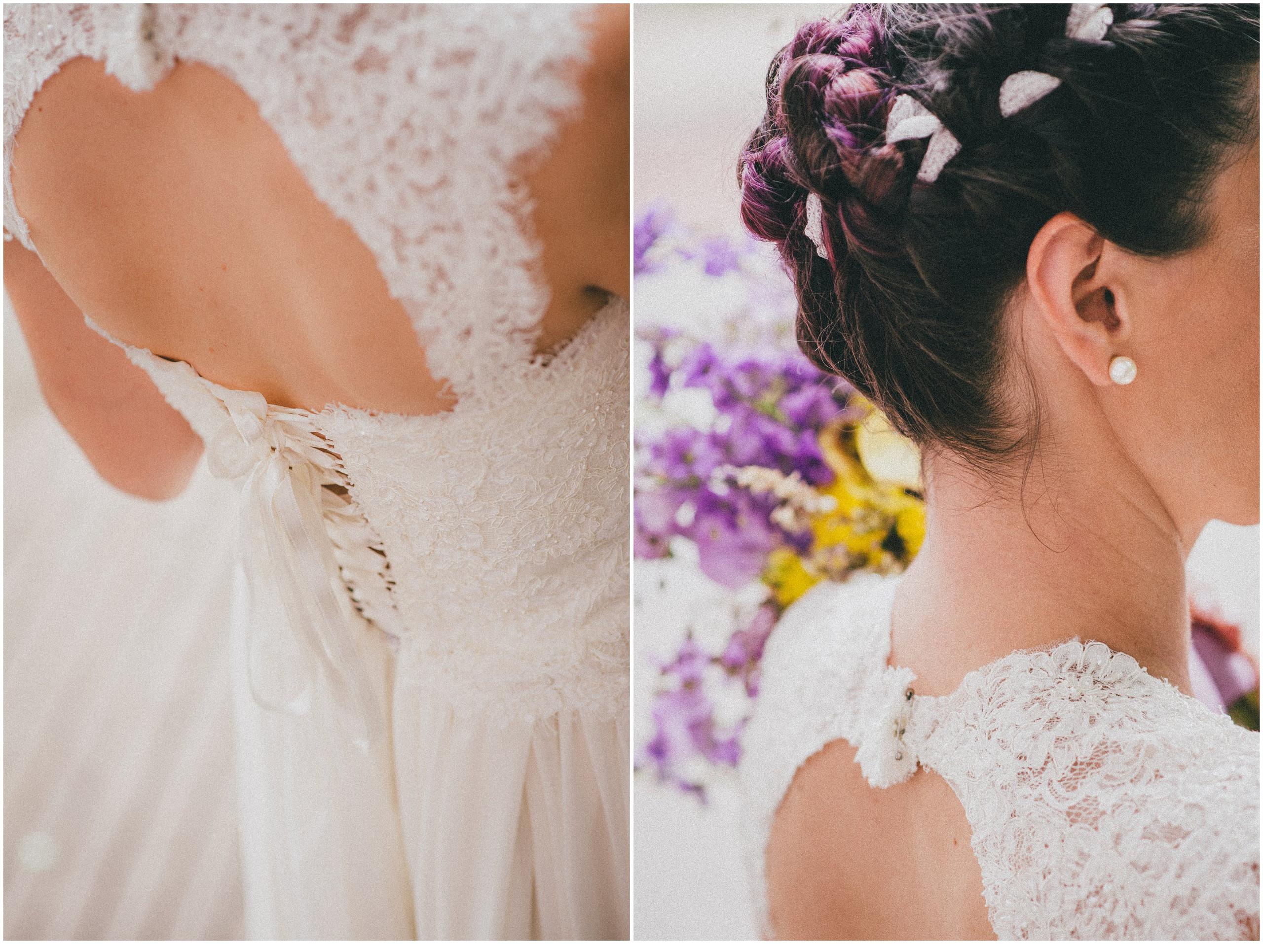Fotografija mladenke, detalji na vjenčanici i vjenčani buket Saša Šekoranja