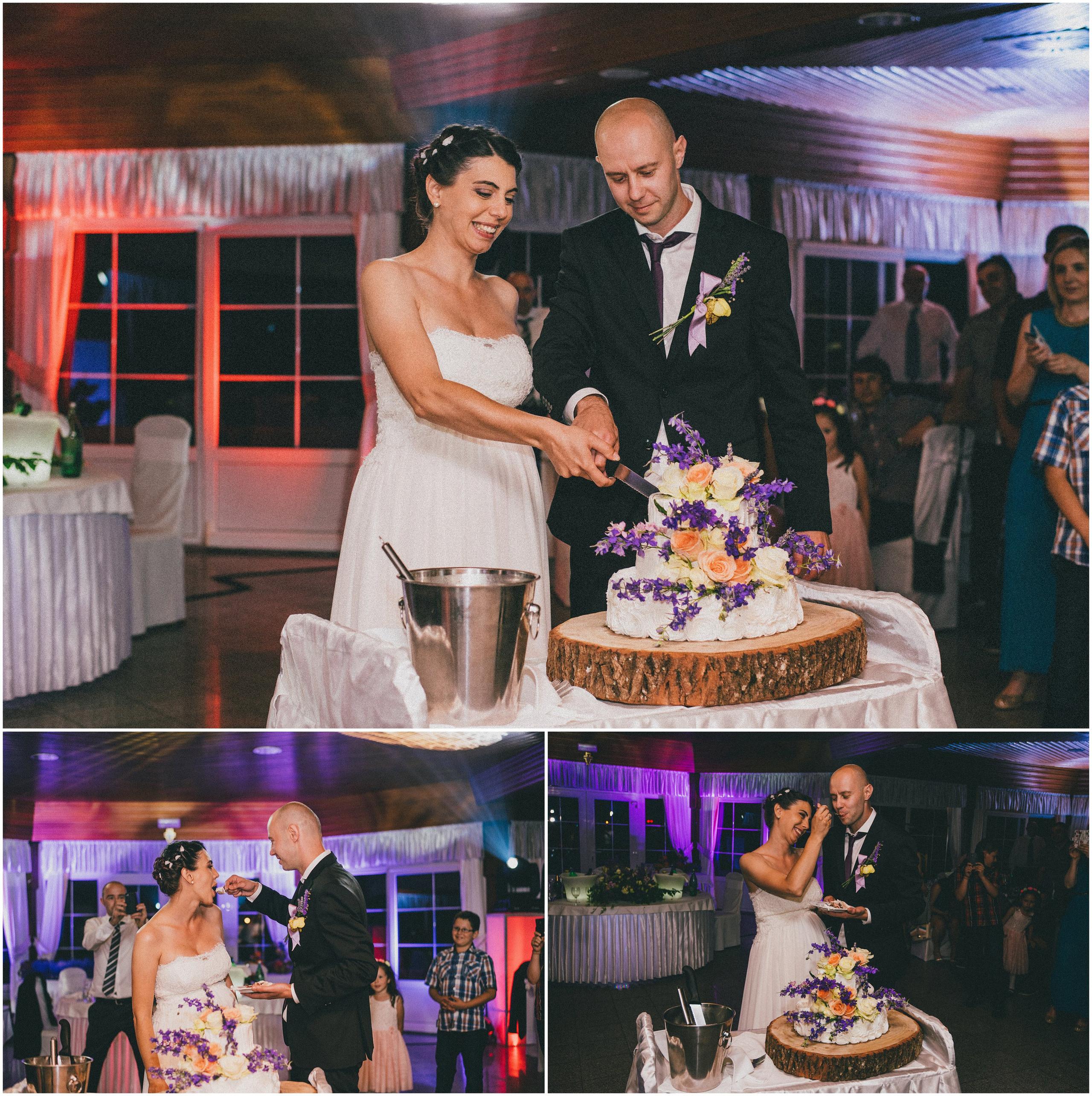 Vjenčana torta snimanje vjenčanja Divlje Vode