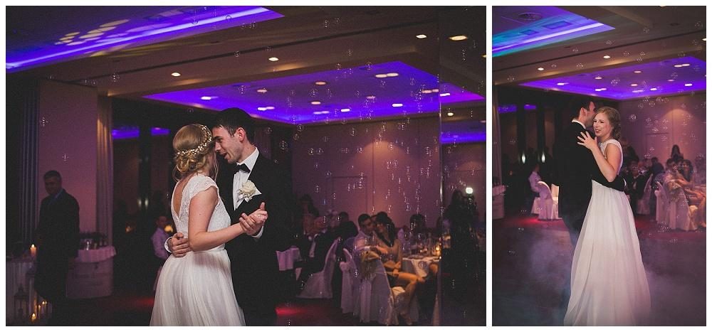 Snimanje vjenčanja u Zagrebu, prvi ples mladenaca