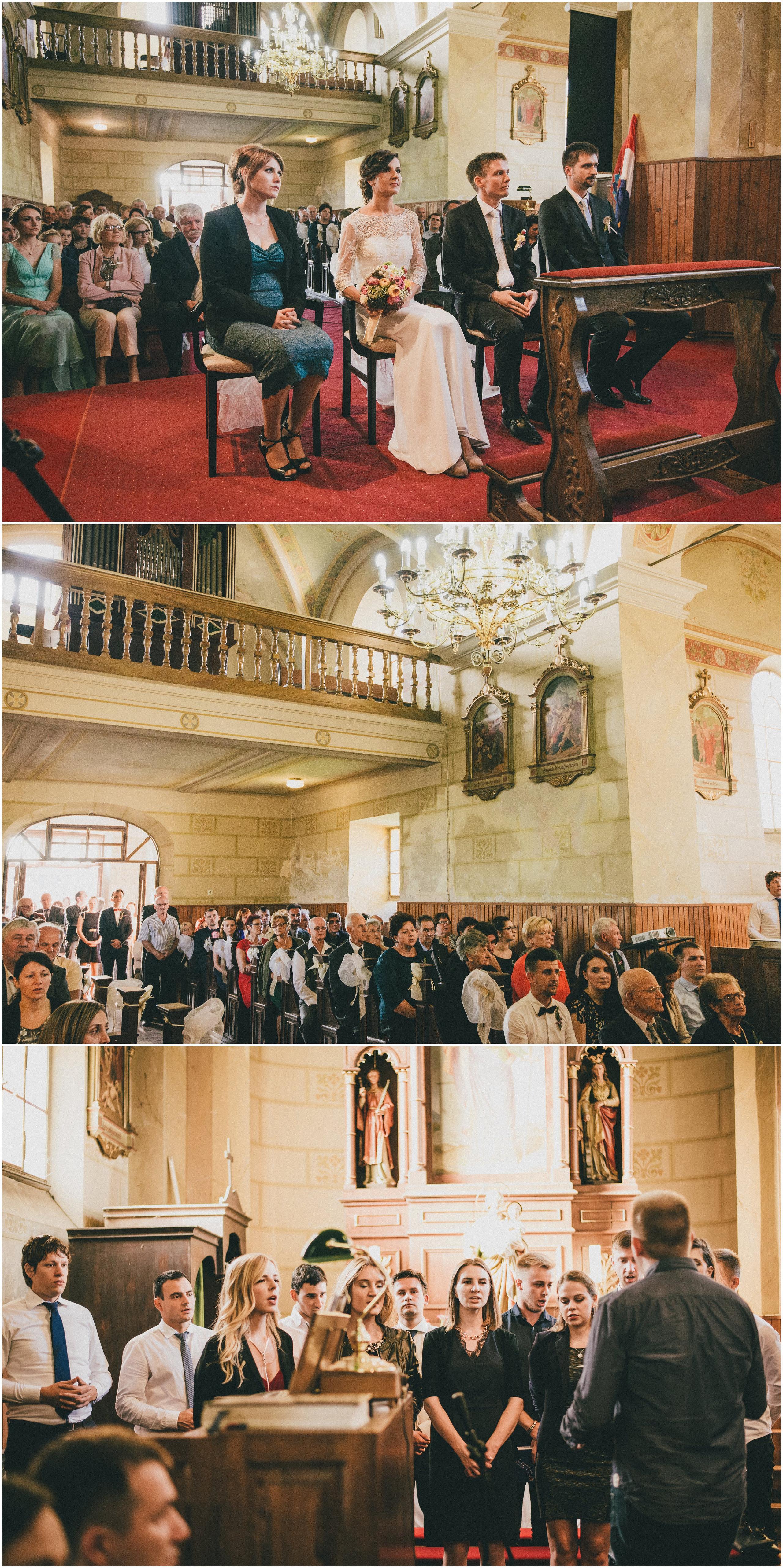 Crkva, gosti i zbor