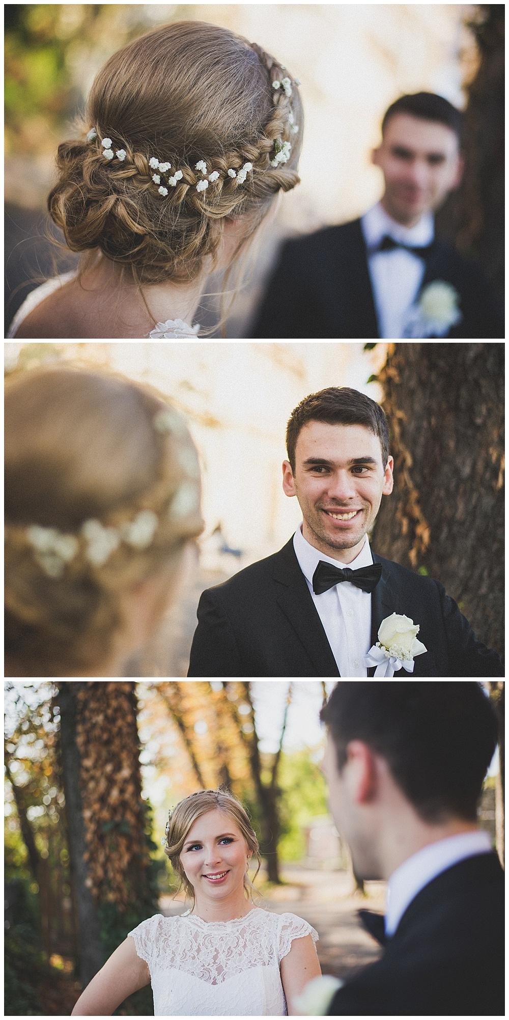 Snimanje vjenčanja u Zagrebu, Gornji grad