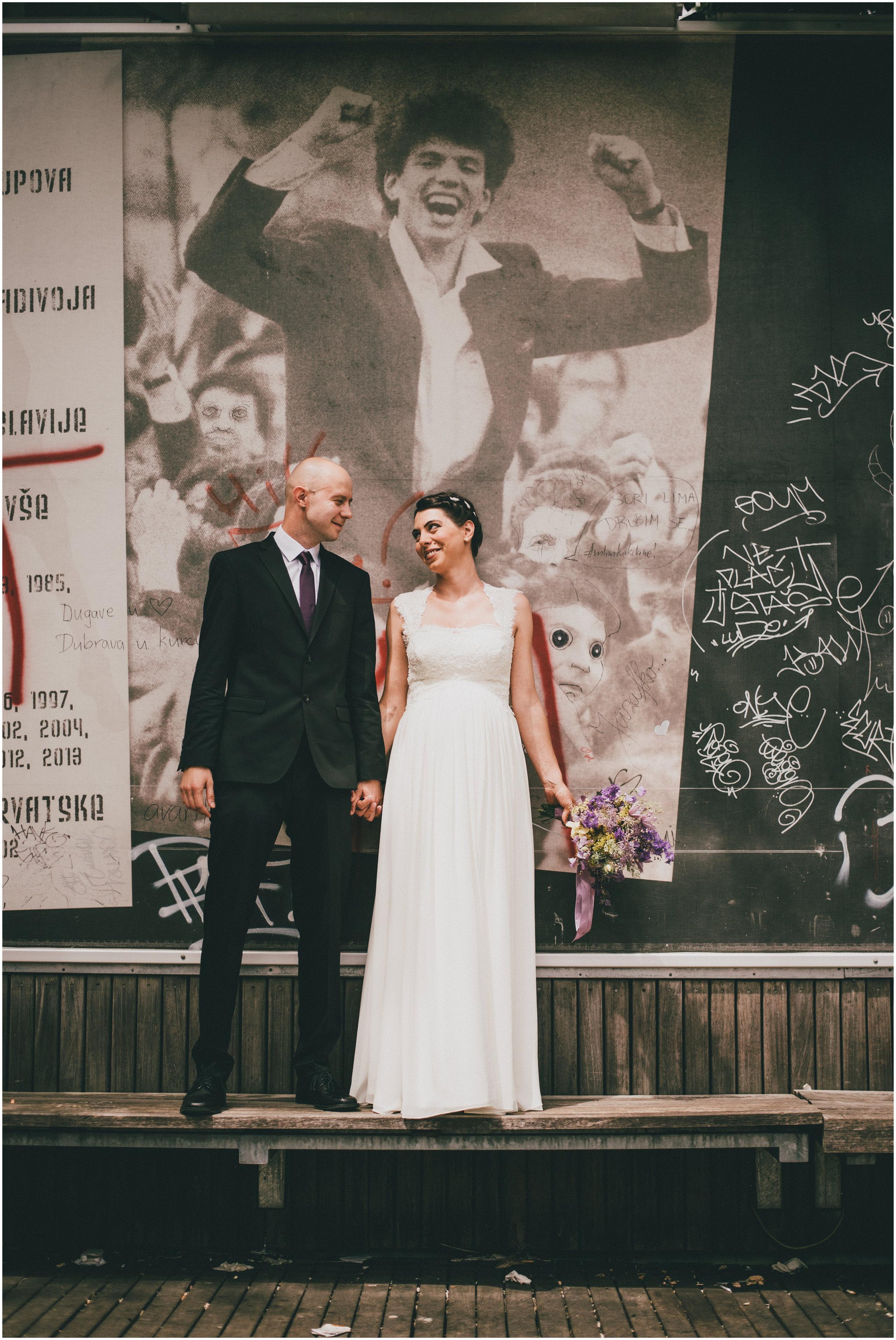 Snimanje vjencanja na lokaciji Tuškanac, Imago Amoris Studio