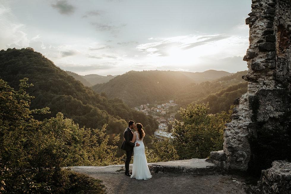 Snimanje vjenčanja u Samoboru, Stari Grad
