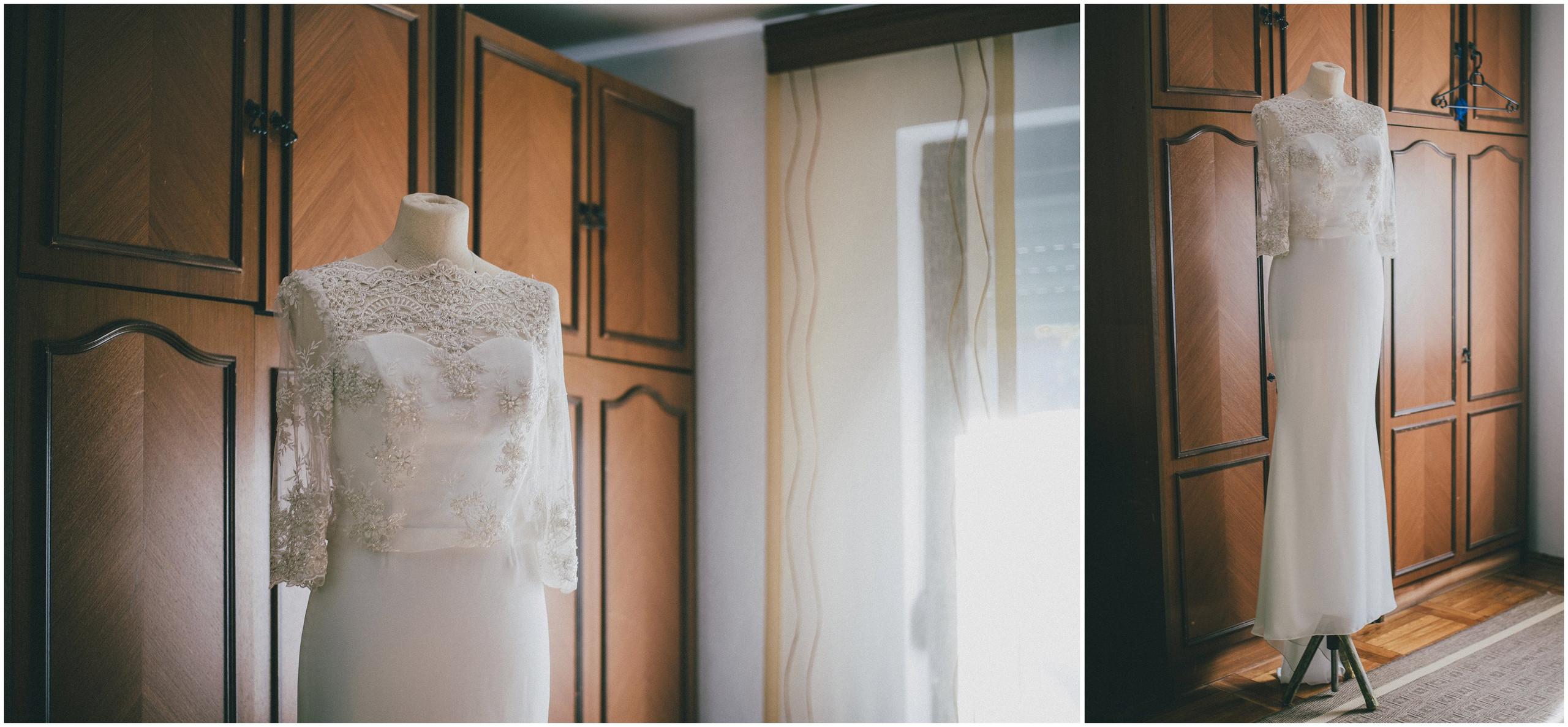Vjenčanica na vješalici