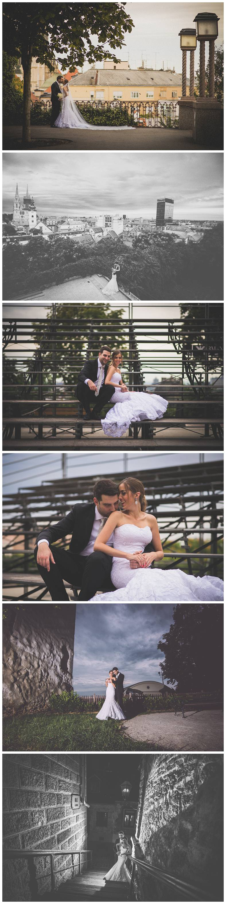 Foto studio za vjenčanja u Zagrebu, snimanje na tribinama u Gornjem Gradu