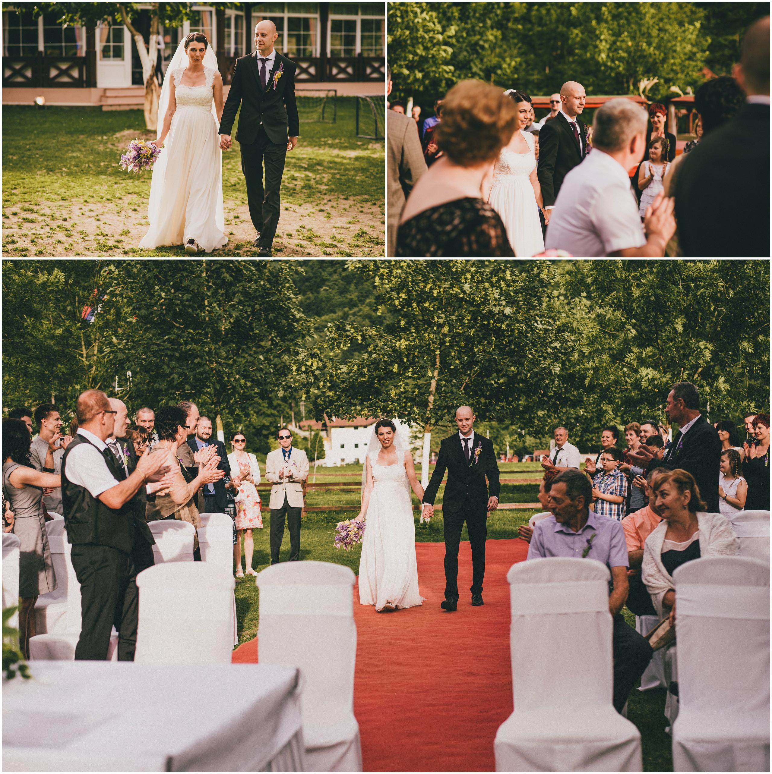 Obred vjenčanja na otvorenom, Divlje Vode